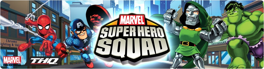 Banner Marvel Super Hero Squad
