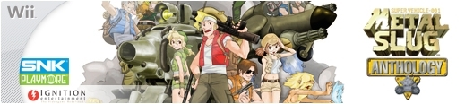 Banner Metal Slug Anthology