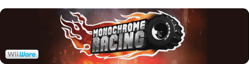 Banner Monochrome Racing