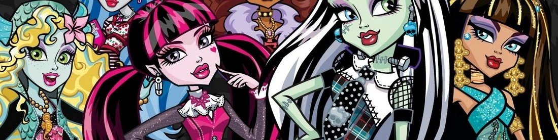 Banner Monster High De Graf Geest