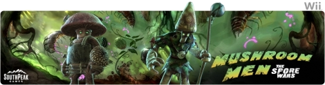 Banner Mushroom Men - The Spore Wars