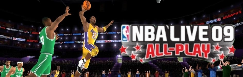 Banner NBA Live 09 All-Play