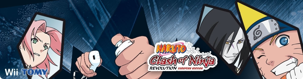 Banner Naruto Clash of Ninja Revolution - EU Version