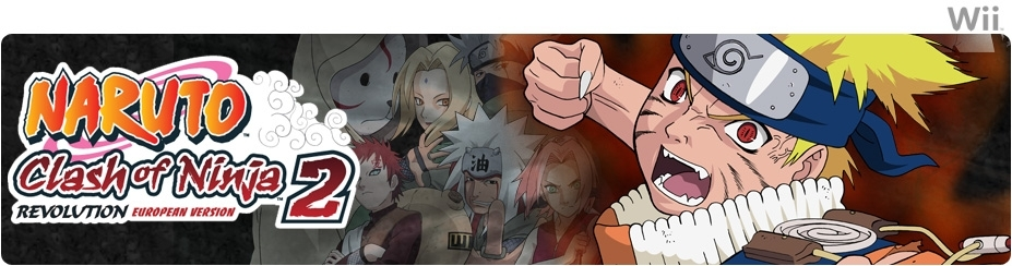 Banner Naruto Clash of Ninja Revolution 2 - EU Version