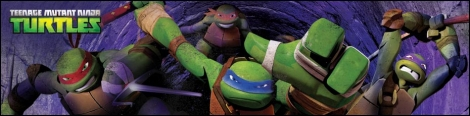 Banner Nickelodeon Teenage Mutant Ninja Turtles