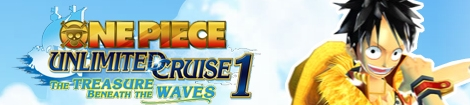 Banner One Piece Unlimited Cruise 1 The Treasure Beneath the Waves