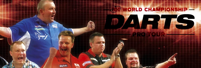 Banner PDC World Championship Darts Pro Tour
