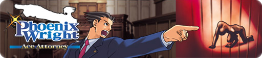 Banner Phoenix Wright Ace Attorney