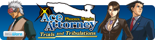 Banner Phoenix Wright Ace Attorney Trials and Tribulations