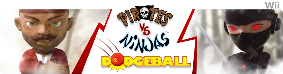 Banner Pirates vs Ninjas Dodgeball