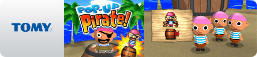 Banner Pop-Up Pirate