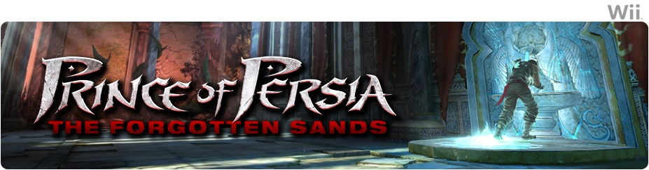 Banner Prince of Persia The Forgotten Sands