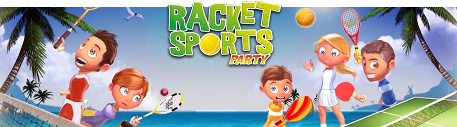 Banner Racket Sports Party