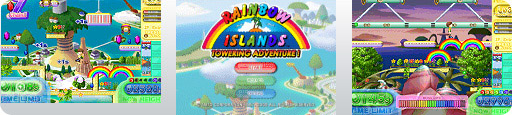 Banner Rainbow Islands Towering Adventure