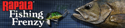 Banner Rapala Fishing Frenzy