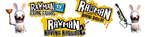 Banner Raving Rabbids Party Collection