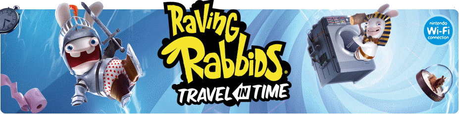 Banner Raving Rabbids Travel in Time