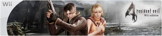 Banner Resident Evil 4 Wii Edition