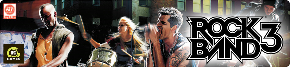 Banner Rock Band 3