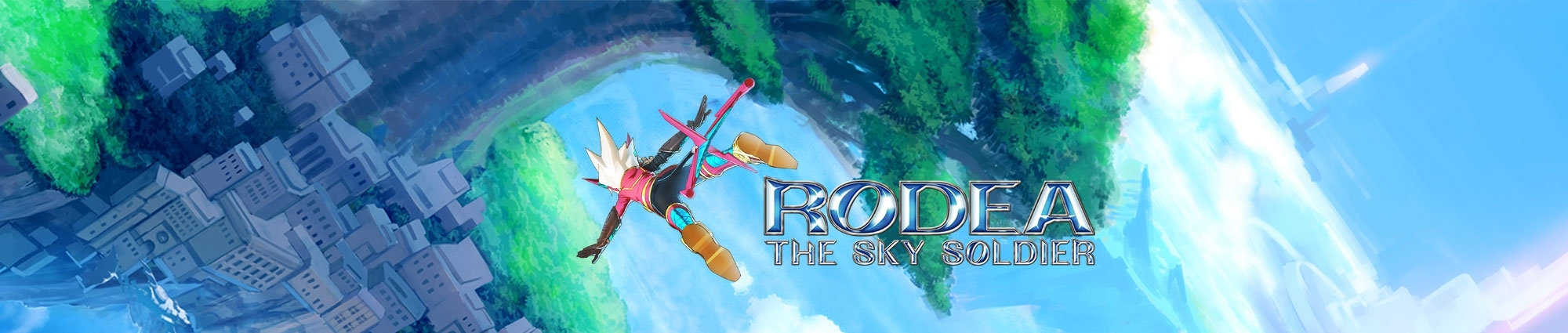 Banner Rodea the Sky Soldier