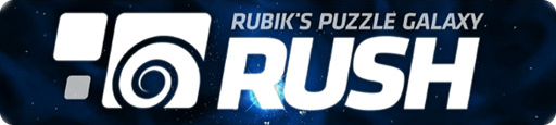 Banner Rubiks Puzzle Galaxy RUSH