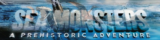 Banner Sea Monsters A Prehistoric Adventure