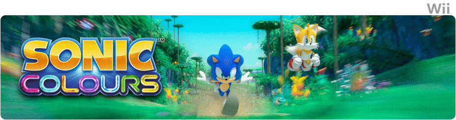 Banner Sonic Colours