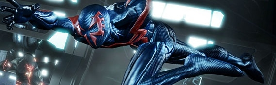 Banner Spider-man Edge of Time