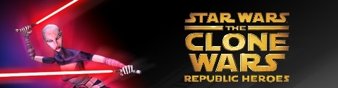 Banner Star Wars The Clone Wars Republic Heroes