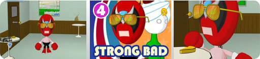 Banner Strong Bad Episode 4