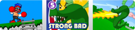 Banner Strong Bad Episode 5 - 8 Bit is Enough