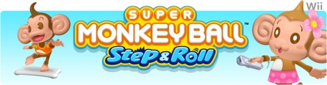Banner Super Monkey Ball Step and Roll