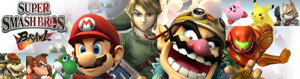 Banner Super Smash Bros Brawl