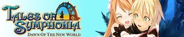 Banner Tales of Symphonia Dawn of The New World