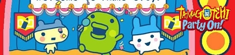 Banner Tamagotchi Party On