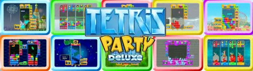 Banner Tetris Party Deluxe