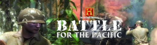 Banner The History Channel Battle for the Pacific