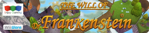 Banner The Will of Dr Frankenstein
