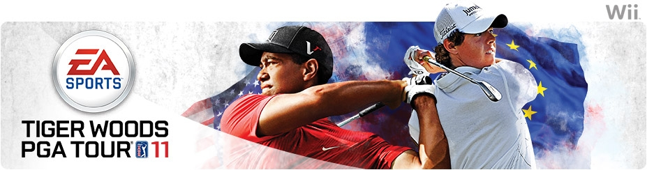 Banner Tiger Woods PGA Tour 11