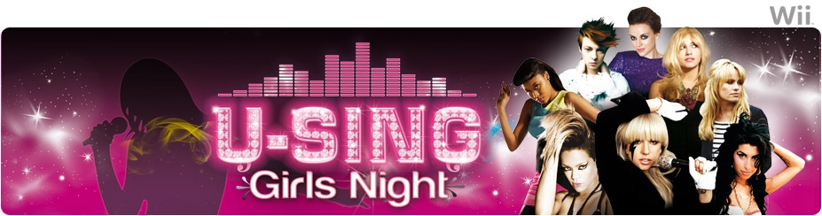 Banner U-Sing Girls Night