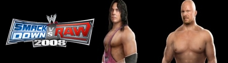Banner WWE SmackDown vs Raw 2008