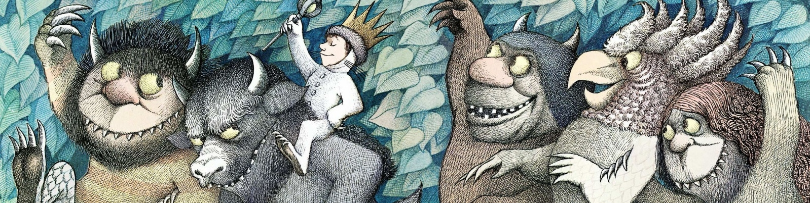 Banner Where the Wild Things Are