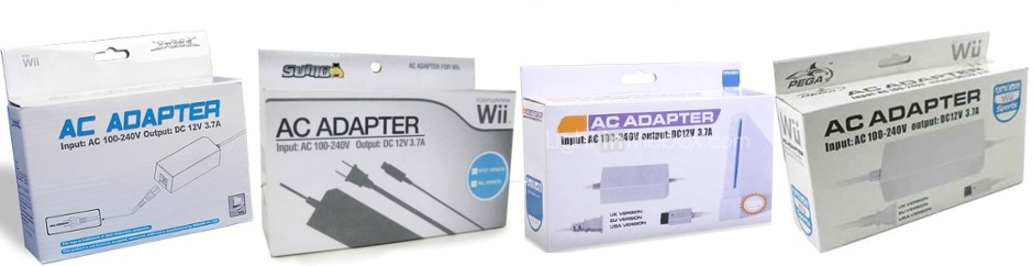Banner Wii AC Adapter 230 Volt Third Party