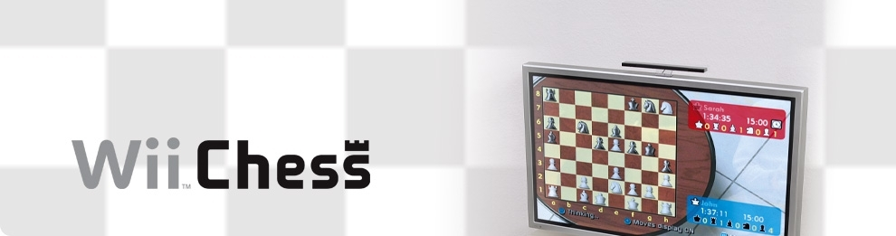 Banner Wii Chess