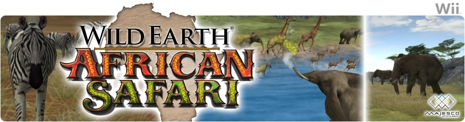 Banner Wild Earth African Safari