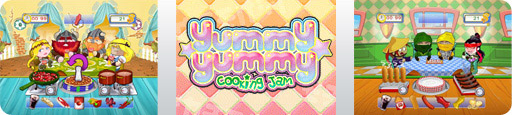 Banner Yummy Yummy Cooking Jam