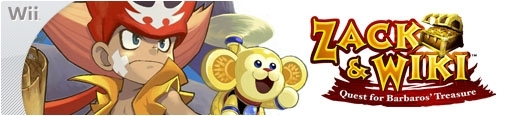 Banner Zack and Wiki Quest for Barbaros Treasure