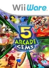 5 Arcade Gems voor Nintendo Wii