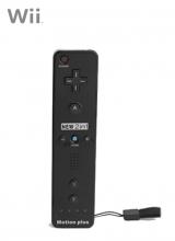 Afstandsbediening Plus Third Party Zwart voor Nintendo Wii