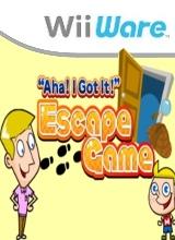 Aha I Got It Escape Game voor Nintendo Wii